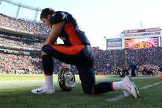 NFL Denver Broncos: Tim Tebow - Click image to find more Sports Pinterest pins