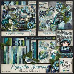 Enjoy the Journey ~ Bundled Collection By Jumpstart Designs