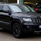 Modified Jeep Grand Cherokee 2012 Front Side Wallpaper HD