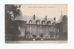 Chateau de Breau sans Nappe Postcard early 1900's unused not stamped