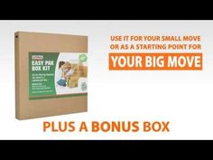 Use a box kit when moving to avoid buying everything separately. | Moving Tricks, Tips and Supplies
