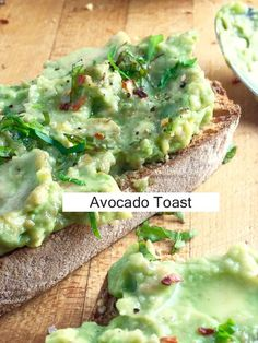 minute How To - Avocado Toast -- Recipe for avocado mashed up and ...