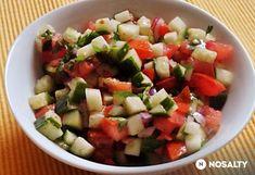 Indiai uborkasaláta Garam Masala, Chili, Mexican, Ethnic Recipes, Food, Tomatoes, Cooking, Food Food, Chile