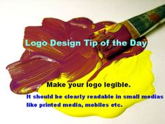 Logo Design Tips of the Day for Making good logo designs
