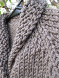 My favorite baby sweater to knit. Easy too!