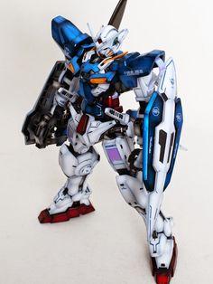 1/60 Gundam Exia - Painted Build