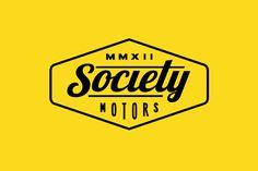 Society Motors Motorcycle Logo by Hoodzpah Art + Graphics