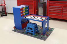 Portable Lego Creation Station