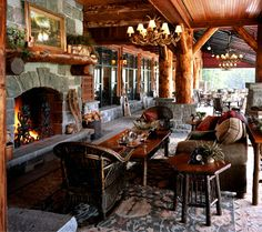 Lakeplacid Whiteface Lodge Lake Mountain Wedding Venues Outdoor Fireplaces