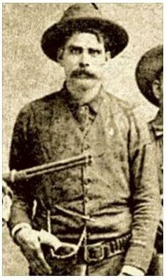On Feb 28, 1885 Ranger Captain Josephus Shely (pic) testified against Charles Yeager, charged with murder of US Marshal Harrington Lee Gosling on Feb 21. Gosling and deputies were transporting Yeager and Jim Pitts by train from Austin to Chester, Illinois. Yeager and Pitts pulled smuggled revolvers, murdered Marshal Gosling, fought with deputies and leaped from the moving train. Pitts was mortally wounded. Captain Shely found Yeager the next day. Shely was pall bearer at the Gosling's funeral.