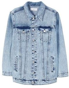 Medium wash denim jacket Mango Jackets, Welt Pocket, Shirt Style, Jackets  For Women 932ff63692