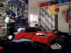 Attractive Decoration in Modern Teenagers Bedroom Get Latest Designs & Decor Ideas for your Home at http://www.urbanhomez.com/decor Find Top Interior Designers for an awesome looking Modern Teenagers Bedroom at http://www.urbanhomez.com/construction/interior_designer