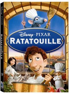 Ratatouille my favorite kid flick! I am pretty sure I have seen it over a 100 times.