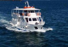ΝΑΥΤΙΚΗ εταιρεία, πωλεί επιβατικό τουριστικό πλοίο, του 2003 σε λειτουργία λόγω ανανέωσης του στόλου της, 49 ΚΟΧ, άριστης κατάστασης, 135 επιβατών, από χάλυβα 22 μέτρων με 2 κινητήρες mod. 2003 Doosan 400 hp, γεννήτρια john deer 30 kva, κλιματισμός 36. 000 BTU, δυο κλειστά σαλόνια 98 επιβατών (χειμώνα) και εξωτερικά καθίσματα 60 επιβατών, με όλα τα πιστοποιητικά σε ισχύ. Πλήρωμα (2 ) δύο άτομα (Κυβερνήτης, Ναυτόπαιδας). Πληροφορίες από Δευτέρα έως Σάββατο 09. 00 - 15. 00, τιμή 220.000€…