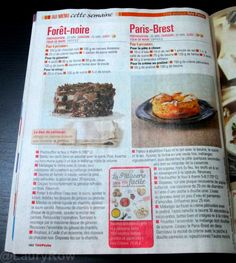 NEWS #telepoche #10/11/14 #foretnoire #parisbrest #dessert @LauryRow