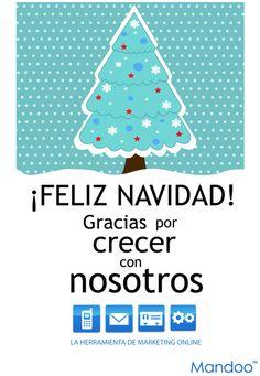 #FELIZNAVIDAD #NAVIDAD  El equipo de Mandoo os desea Feliz Navidad.