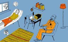 Como é a psicoterapia? A psicoterapia não é uma simples conversa, mas um diálogo entre um terapeuta e o cliente com intenção de compreender o cliente no que está passando e promover seu bem-estar psíquico, com base na abordagem teórica que cada psicoterapeuta escolhe para trabalhar.
