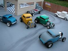 Hot Rods Custom Hot Wheels, Custom Cars, Hot Rods, Model Cars Building, Plastic Model Cars, 32 Ford, Model Cars Kits, Remote Control Cars, Volkswagen Bus