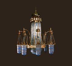 J. & L. Lobmeyr, Chandelier for the Prophet's Mosque in Medina. Design: Peter Rath, 1986.