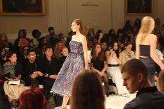 Georgie Minter-Brown, actress, blogger, fashion, london fashion week, designer, fashion scout, catwalk, models, Zeynep Kartal