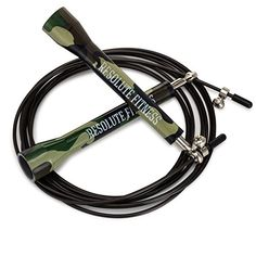 Resolute Fitness Custom Made Crossfit Speed Jump Rope with Metal Bearings Plastic Handles and Adjustable PVC Coated Wire Camouflage >>> Find out more about the great product at the image link. (This is an affiliate link) No Equipment Workout, Fitness Equipment, Band Hoodies, Pvc Coat, Crossfit, Camouflage, Custom Made, Discount Sites, Discount Travel