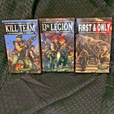 Warhammer 40k Paperback 13th Legion Kill Team Thorpe First and Only Abnett | Books, Fiction & Literature | eBay!
