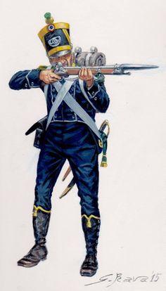 Volteggiatore della fanteria leggera francese