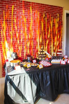 The Monogrammed Mom: A Fiery First Birthday Party!