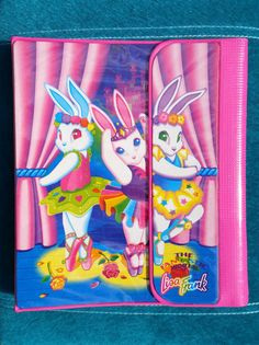 Hey, I found this really awesome Etsy listing at https://www.etsy.com/listing/241603492/vintage-lisa-frank-binder-ballerina