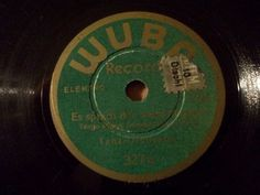 """First and Big Auction 78rpm in 2017 Come in & find out :-)  !!! Startprice only 1,99 Euro !!! Worldwide shipping !!!  TANZ ORCH.""""Es sprach der weise Marabu"""" rare 17,5cm WUBA"""