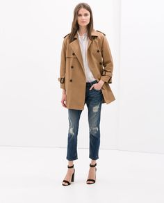 ZARA - WOMAN - SHORT TRENCH COAT