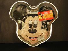 Wilton Mickey Mouse Cake Pan 2105-3603 2001        $15.97            1798