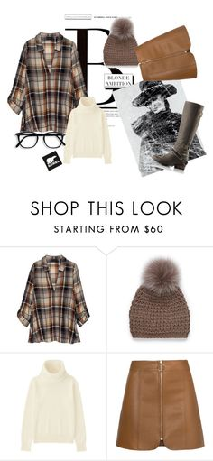 """Tame Winter with SOREL: blonde ambition"" by bedwinargd on Polyvore featuring Morgan, SOREL, Bobeau, Simons, Uniqlo and sorelstyle"