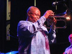 Hugh Masekela — Boston — Berklee Performance Center. His guitar player, Cameron John Ward, is a wonder!