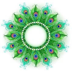 Buy Mandala of Green Peacock Feathers by on GraphicRiver. Mandala and bright green, peacock feathers on a white background. Design with bright feathers. Mandala Feather, Feather Art, Peacock Feathers, Mandala Art, Peacock Feather Tattoo, Mandalas Painting, Mandalas Drawing, Peacock Decor, Green Peacock