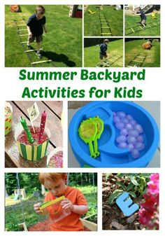 Summer Backyard Activities for Kids | The Jenny Evolution