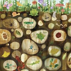 underground wall art! perfect for any boys room or a play room!