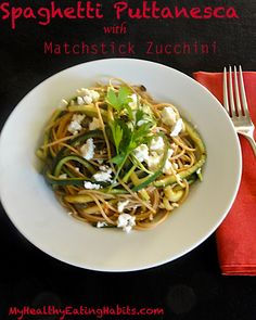 """Spaghetti Puttanesca 