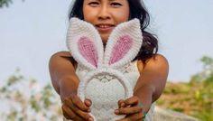 30-Minute Bunny Ear Headband Free Crochet Pattern