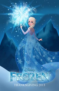 Frozen: Elsa the Snow Queen, coming this Thanksgiving. Excited!