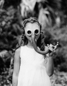 favorite gas mask portrait
