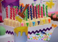 Doces para Festa Pintando o Sete