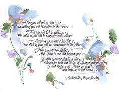 Apache Wedding Prayer Blessing Poster By Darlene Flood