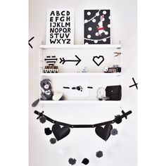 Alphabet noir ABC Print, Illustration enfants / kids décor par Tellkiddo sur Etsy https://www.etsy.com/ca-fr/listing/196484445/alphabet-noir-abc-print-illustration