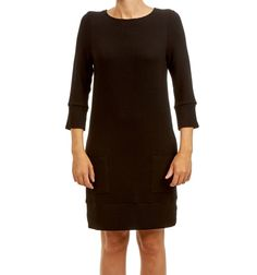 FIFFI DRESS BLACK via Jascha online store. Click on the image to see more!