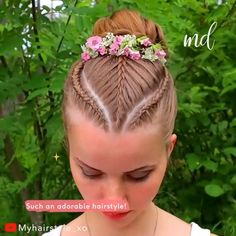 Braided Bun Hairstyles, Braided Hairstyles, Cool Hairstyles, Hairstyle Men, Style Hairstyle, Hairstyles 2018, Crazy Hair Day At School, Crazy Hair Days, Hair Upstyles