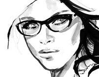 Face 2 by Johanna Fernihough, via Behance