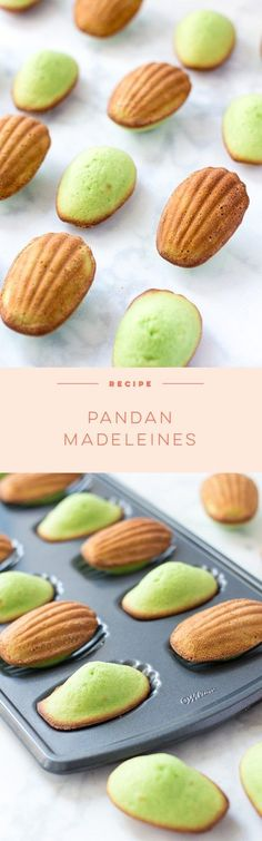 These Pandan Madeleines are a Southeast Asian twist on a French classic. You'll love the delicate flavor and buttery texture!