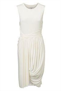 Sleeveless Jersey Drape Dress #witcherywishlist