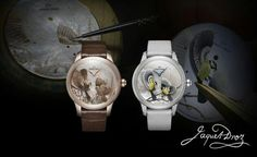 Jacquet Droz Petite Heure Minute Relief Seasons presented at Baselworld 2013